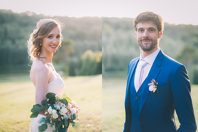 Mariage au château de montgobert - photographe mariage montgobert - mariage château Aisne